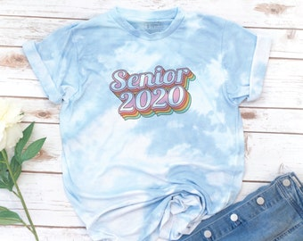 Tie Dye, Senior shirt, Class of 2020, High School Senior, Seniors 2020, Graduation, Retro, College shirt, ASB shirt, Associated Student Body