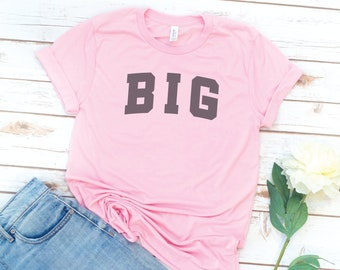 Big and Little Shirts, GBig, GLittle, Big and Little, Reveal, Big Sis, Little Sis, Sorority gift