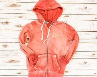 SALE Kappa Alpha Theta Zip Fleece, Sweatshirt, Theta, Medium