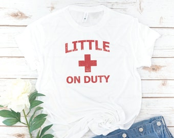 Big Little Sorority, Reveal Shirt, Sorority Shirts, Lifeguard, Big Sis, Little Sis, GBig, GGBig, Retro, Vintage, Little on Duty