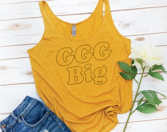 Little Sis Tank, Big Sis Tank, Big Little Sorority, Reveal, GBig, , GGbig, GGGBig