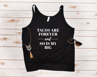 Big Sis Tank, Tacos, Big and Little, Reveal, Big Sis, Tacos are Forever