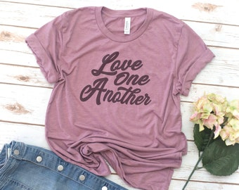 Love shirt, Love One Another, Retro, Vintage, Love Wins, Love Always Wins