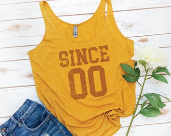 Birthday Gift, Birthday Shirt, Custom Tank, Personalized Tank, personalized gift, Birthday gift, gift for her, Year gift, group shirt