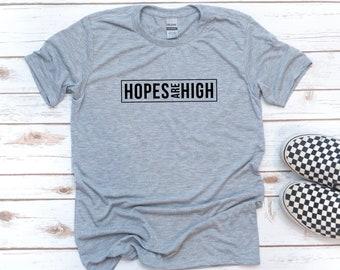Christian Men, Hopes are High, Gift for Christian, Men's Shirt, Gift for Dad, Gift for men, Christian Shirt, Jesus, Easter, Christmas Gift