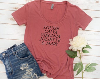 Alpha Sigma Alpha Shirt, Founders, ASA, alumnae, recruitment, womens shirt, big little reveal