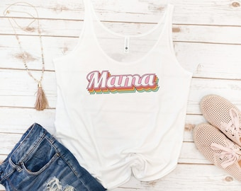 Mama Tank, Women's Tank, Mama Gift, Mom, Momma, Mommy, Vintage, Mother's Day Gift, Gift for Mom, Gift for Woman