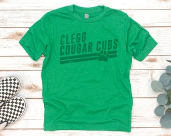 YOUTH Shirt, Clegg Kids Tee, Cubs angle