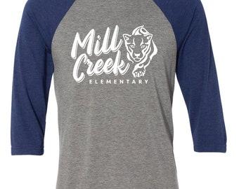 Mill Creek Elementary, Baseball Raglan