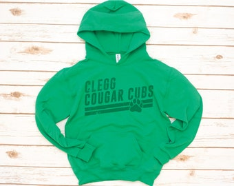 YOUTH Hoodie, Clegg Kids, Cubs Angle
