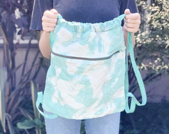 Bleach Dyed Tote, Pigment Dyed Tote, Grocery Bag, Beach bag, Mama Tote, sorority bag, tote bag, Gift for Mom, Mother's Day gift, Grocery Bag
