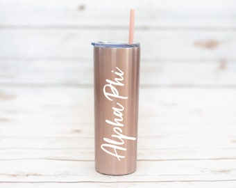Sorority Gift, Sorority 20 oz Tumbler, Custom Tumbler, Sorority, Stainless Steel, coffee, Bachelorette Party, Bride, Sorority, Teacher