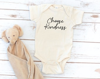 Infant Bodysuit, Kindness, Baby, Baby gift, Choose Kindness, Be kind, baby Shower Gift, Baby Shower gift