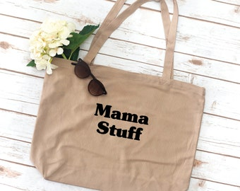 Mama Tote, Mom Tote, sorority bag, tote bag, Gift for Mom, Mother's Day gift, Grocery Bag