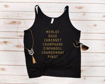 Wine Tank, Wine, Wine Gift, Wine Lover, Cabernet, Chardonnay, Rose, Pinot, Champagne