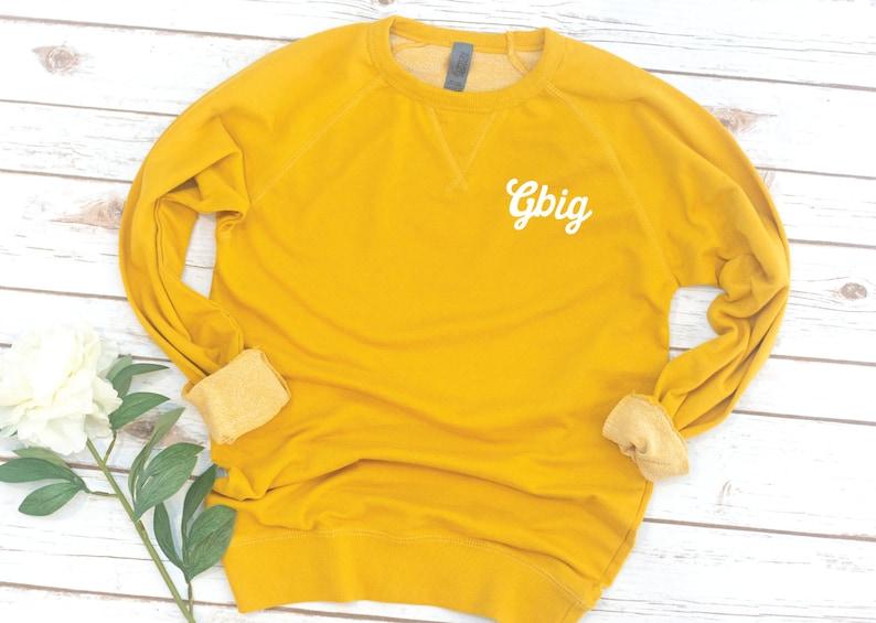 Alpha Xi Delta Big Little Shirts French Terry Sorority shirts Sorority gift Reveal Big Little GBig Vintage Sorority Sweatshirt