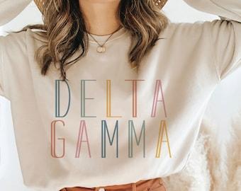 Sorority Sweatshirt, Big and Bold, Vintage, Sorority gift, Sorority shirts, Alpha Gamma Delta, Phi Mu, Theta, Alpha Phi, Kappa Delta, Fleece
