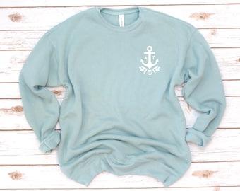 Delta Gamma Sweatshirt, Sorority Sweatshirt, DG, Dee Gee, Crew Fleece, Big little, Vintage, Sorority gift