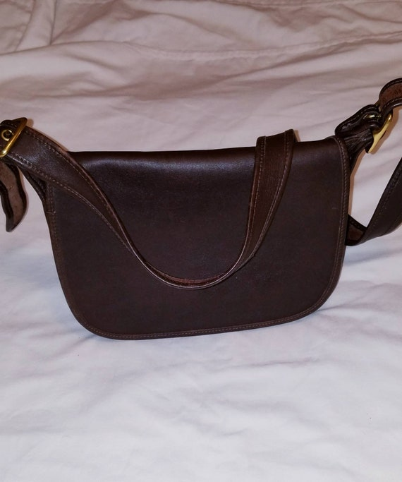Coach Patricia Saddle Bag 9951, Brown
