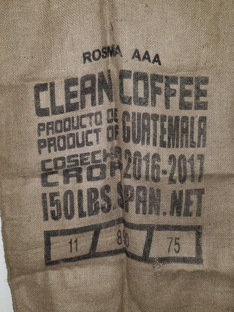 Cool Burlap Coffee Bean Bag Sack Uwap Interior Chair Design Uwaporg