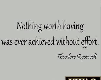Nothing Worth Having Etsy