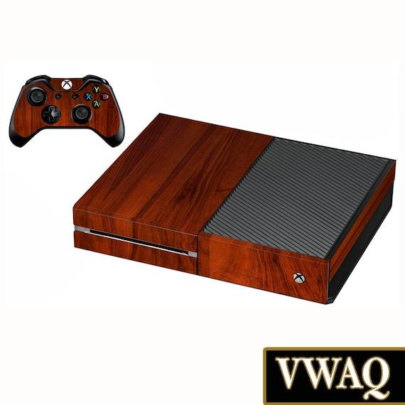 Xbox One Wood Grain Skin Decal - For Console And Controller Wood Skin For  Xbox One VWAQ-XGC4