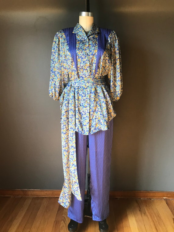 Vtg 80s Diane Freis / Three Piece Outfit
