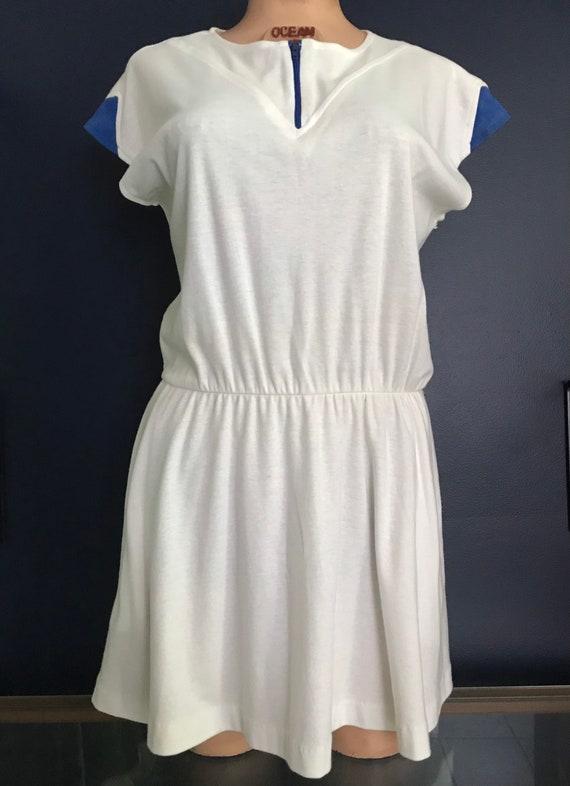 Vtg 70s 80s Tennis Sports Dress