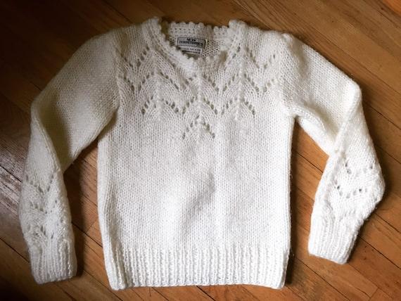 Vtg 60s 70s Sweater