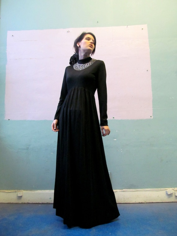 Vintage 70s Maxi / Witchy Woman Dress
