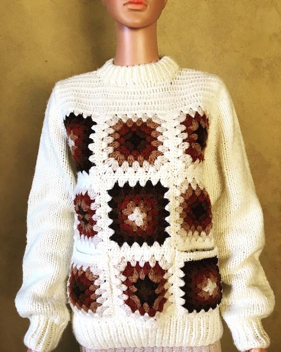 Vtg 70s Kennington Sweater / Size M