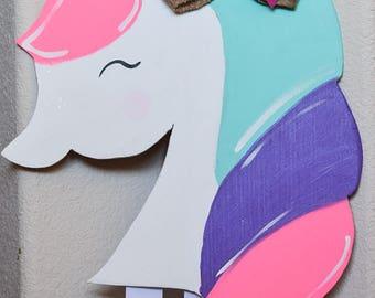Magical Unicorn Hair Bow Holder