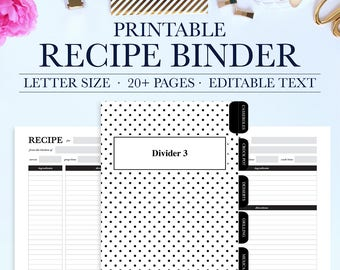 family recipe binder kit personalized recipe book binder etsy