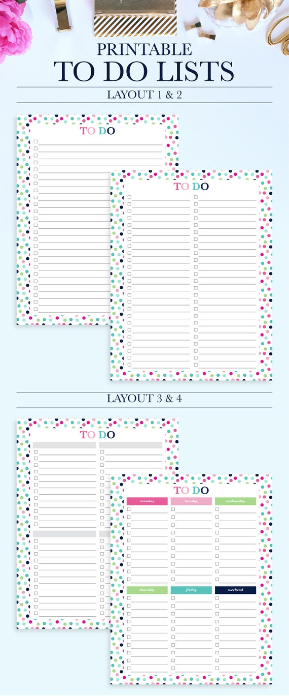 project to do list daily to do list printable printable to etsy