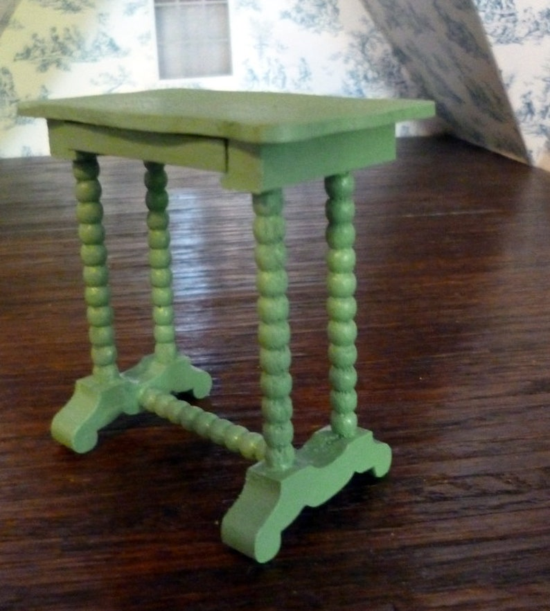 RARE Vintage TYNIETOY Tynie Toy FRENCH DRESSING TABLE Dollhouse Miniature