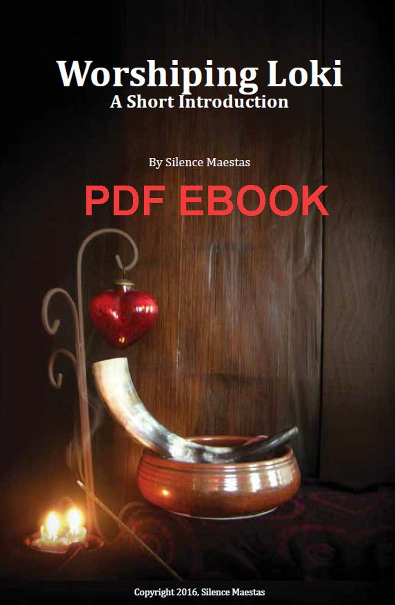Worshiping Loki: A Short Introduction  PDF Ebook instant image 0