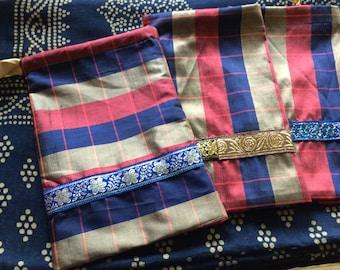 Large Silk Tarot Bags - pure silk - crystal storage