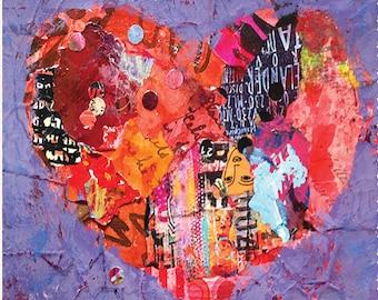 Love Heart Note Cards Set II