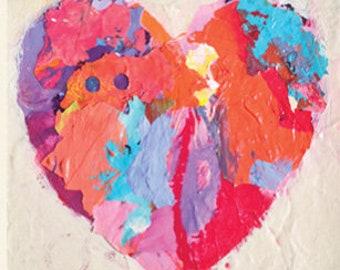 Love Heart Note Cards Set III