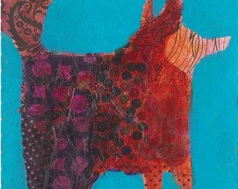 Dogs Fine Art Note Cards - Girls Best Friend