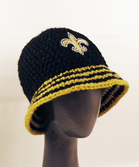 New Orleans Saints inspired Kangol Style Rapper Bucket Brim  27f38bb4545