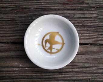 Ring Dish | Hunger Games | Mockingjay | Engagement Gift | Jewelry Dish