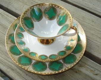 Winterling Bavaria Trio Cup Saucer and Dessert Plate