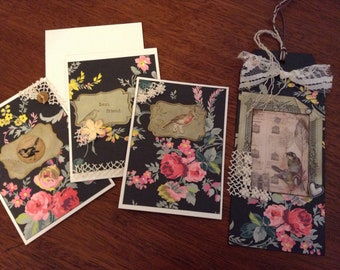 Greeting Card and Gift Tag Set