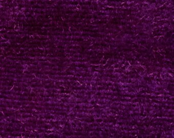 CVC Cotton Velour Fabric by the Yard (Raspberry)