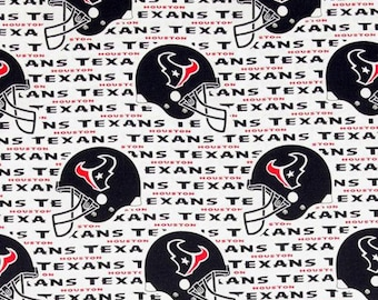 NFL Houston Texans Cotton Fabric by the yard