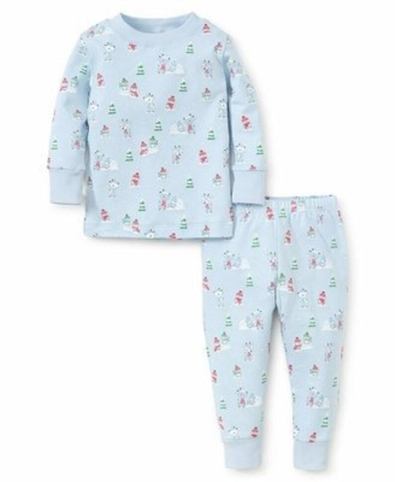 acbf6accbf8d SALE Monogrammed Snowday Pajamas By Kissy Kissy