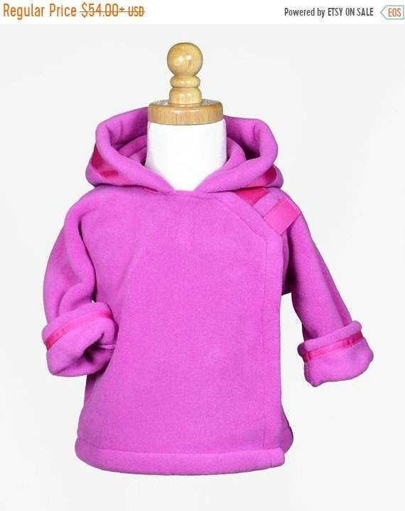 5c80d5ee63b8 Monogrammed Hot Pink Widgeon Jacket   Infant Polartec Fleece