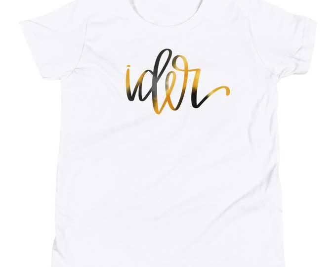 Youth Ider Watercolor White Tee