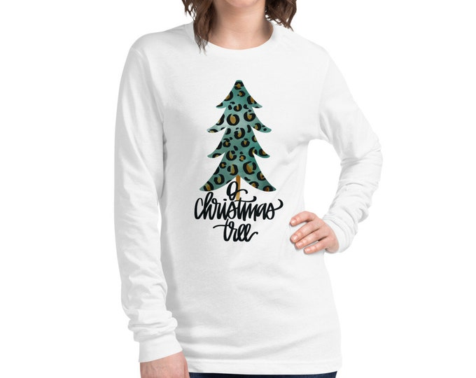 O Christmas Tree Long Sleeve Tee